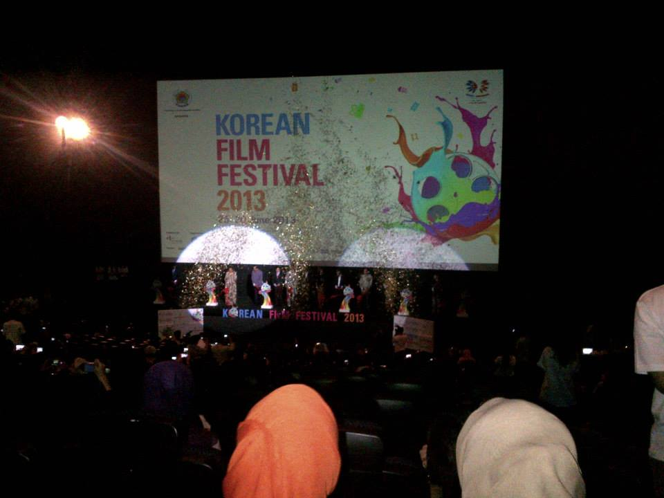 Pembukaan korean film festival 2013
