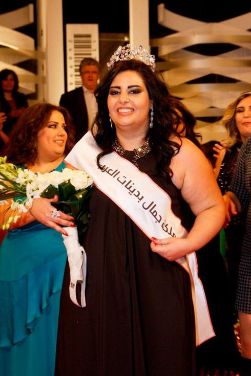 Eliana Neama Pemenang Miss Big Arabian Beauty